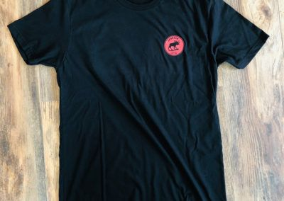 Apparel - _0003_Short Sleeved Tee - Black (Front)