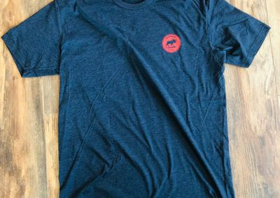 Apparel - _0004_Short Sleeved Tee - Blue (Front)