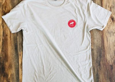Apparel - _0006_Short Sleeved Tee - Cream (Front)