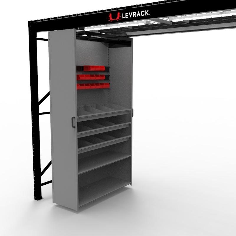 Levrack 36 x 18 Hangar Rail