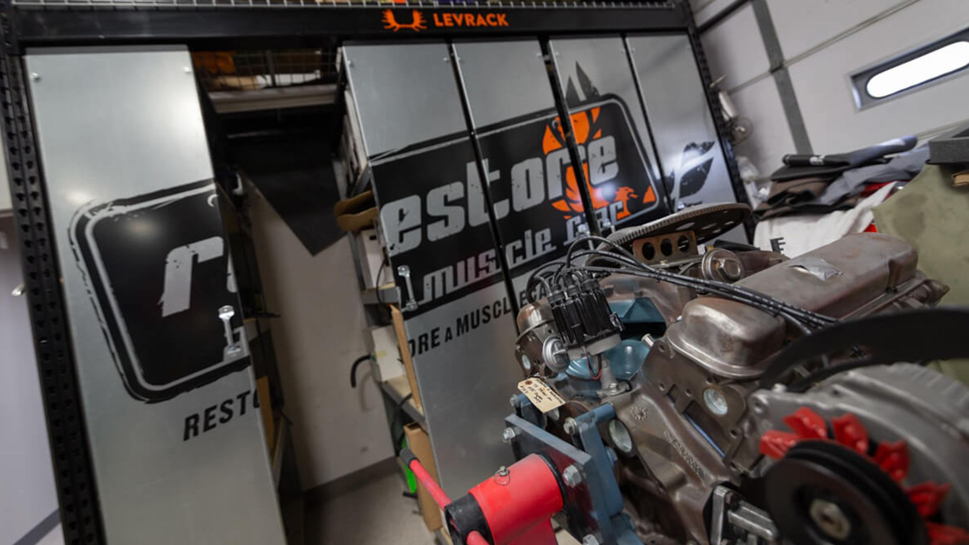 Levrack featured with Restore A Muscle Car