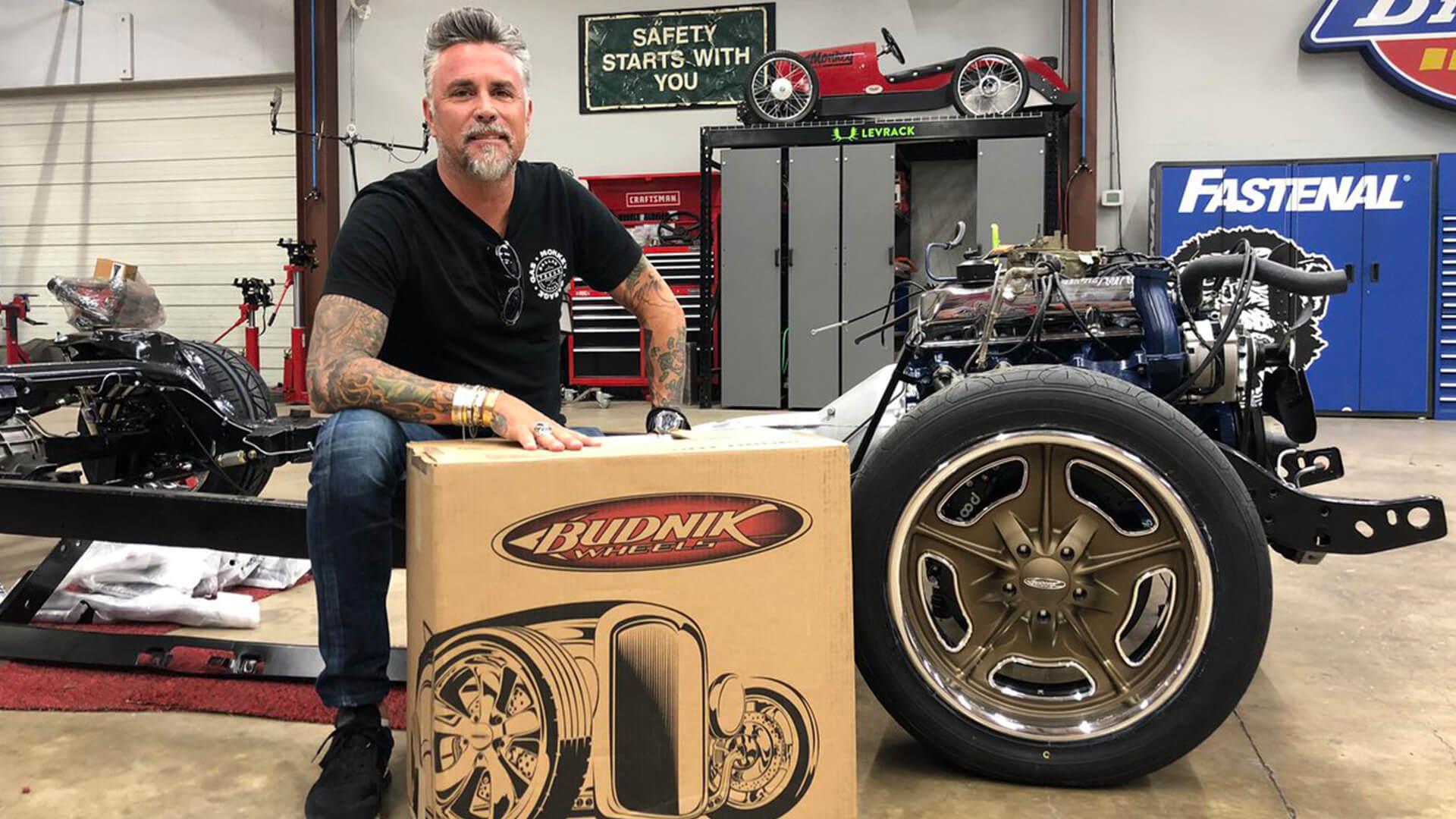 Levrack Ambassador Richard Rawlings of Gas Monkey Garage
