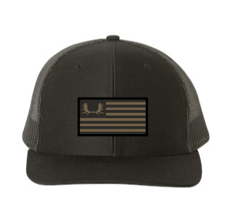 Black Flag Patch Hat